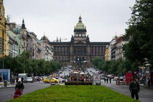 Pulsierendes Herz Prags, das ist der Wenzelsplatz