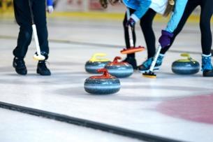 Curling-Fans steht in Prag eine Halle auf Weltniveau zur Verfügung